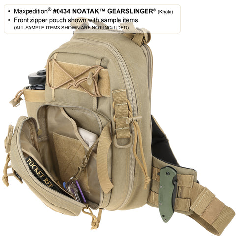 Maxpedition Noatak Gearslinger Shoulder Bag - Foliage Green 0434F