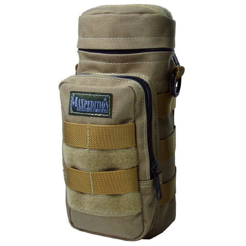Maxpedition 10 x 4 Bottle Holder -  Khaki 0325K