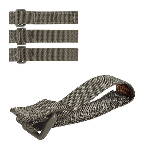 "Maxpedition 3"" TacTie Attachment Strap 4 Pack - Foliage 9903F"
