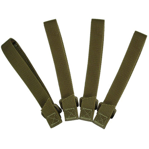 "Maxpedition 5"" TacTie Attachment Strap 4 Pack - Khaki 9905K"