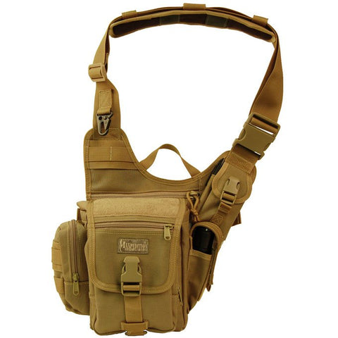 Maxpedition Fatboy Versipack Shoulder Bag Khaki 0403K