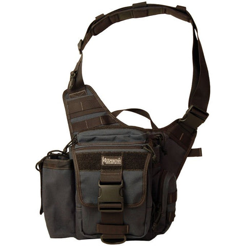 Maxpedition Jumbo Versipack Shoulder Bag - Black 0412DB