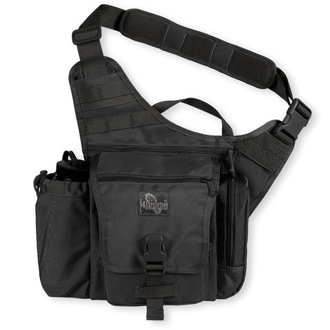Maxpedition Jumbo K.I.S.S. Versipack Shoulder Bag - Black 9849B