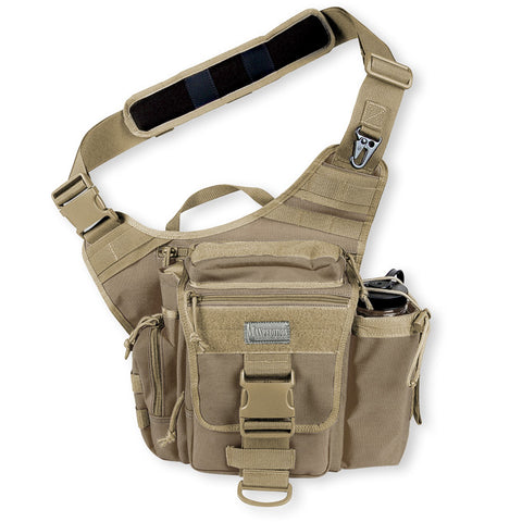 Maxpedition S-Type Jumbo Versipack Shoulder Bag Khaki 0413K