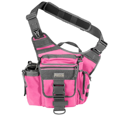 Maxpedition Jumbo Versipack Shoulder Bag - Pink / Foliage 0412PF