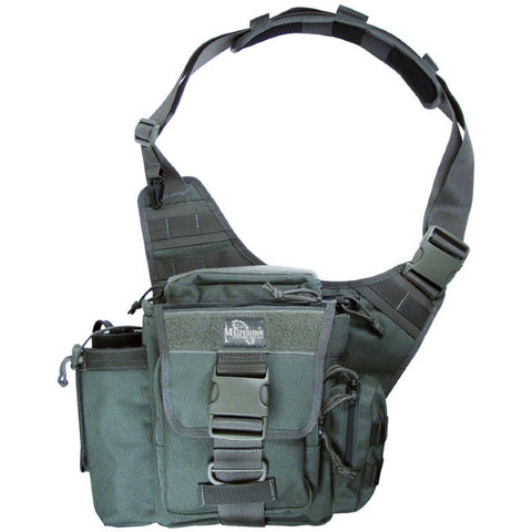 Maxpedition Jumbo Versipack Shoulder Bag - Foliage Green 0412F