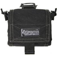 Maxpedition Mega Rollypoly Folding Dump Pouch - Black 0209B