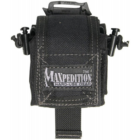 Maxpedition Mini Rollypoly Folding Dump Pouch - Black 0207B