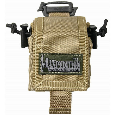 Maxpedition Mini Rollypoly Folding Dump Pouch - Khaki 0207K