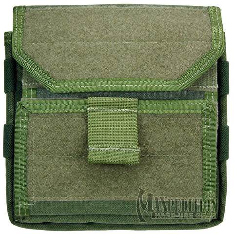 Maxpedition Monkey Combat Admin Pouch - Green 9811G