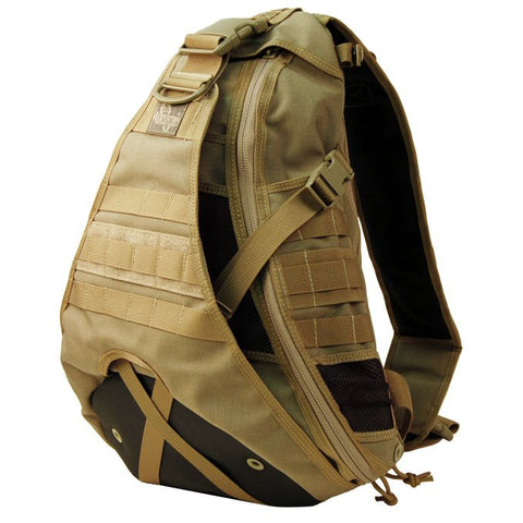 Maxpedition Monsoon GearSlinger Shoulder Pack - Khaki 0410K
