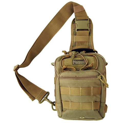 Maxpedition Remora Gearslinger Shoulder Bag - Khaki 0419K
