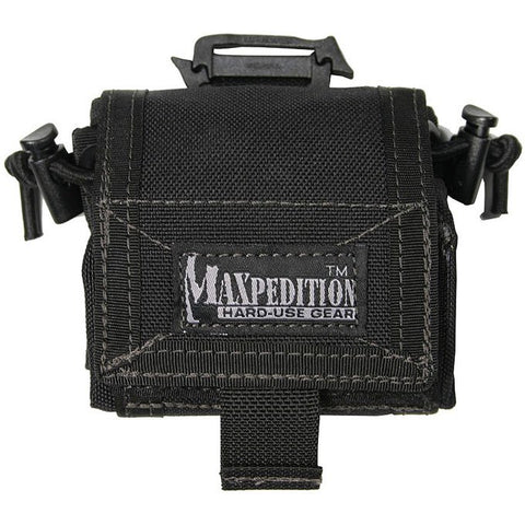 Maxpedition Rollypoly Folding Dump Pouch - Black 0208B