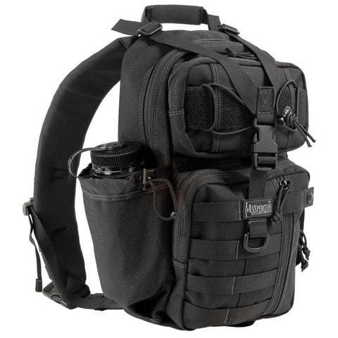 Maxpedition Sitka Gearslinger Shoulder Bag - Black 0431B