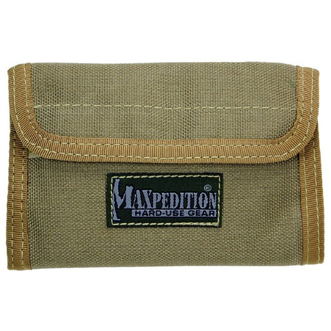 Maxpedition Spartan Wallet - Khaki 0229K