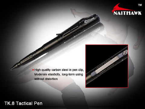 NaitHawk TK8 Tactical Pen - Red