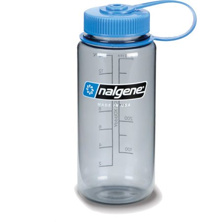 Nalgene Everyday Tritan Wide Mouth 1 Pt BPA Free Gray