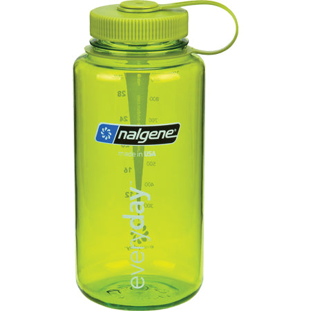 Nalgene Everyday Wide Mouth BPA Free 1 Qt Bottle - Green