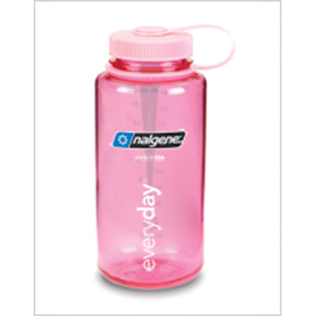 Nalgene Everyday Wide Mouth BPA Free 1 Qt Bottle - Pink