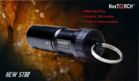 NexTORCH New Star 100M Waterproof LED Flashlight
