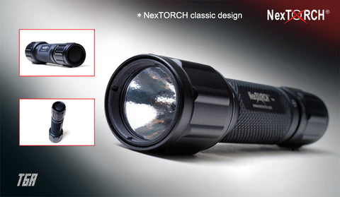 NexTORCH T6A Hunting Flashlight Package