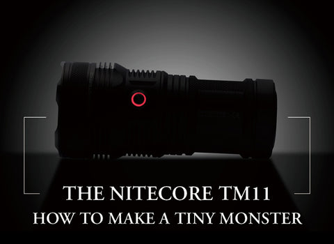 NiteCore TM11 Triple XM-L LED Flashlight - Neutral White