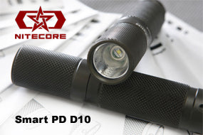 NiteCore SmartPD D10 CREE XR-E R2 LED Flashlight