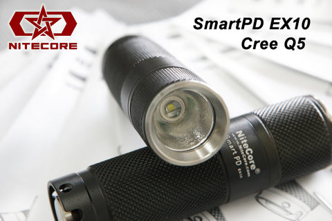 NiteCore SmartPD EX10 SP CREE XR-E R2 LED Flashlight