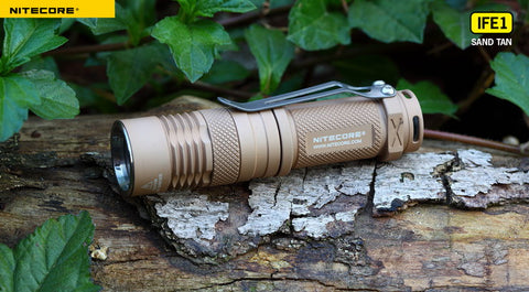 Nitecore Infilux IFE1 Sand Tan CREE XP-G R5 LED Flashlight
