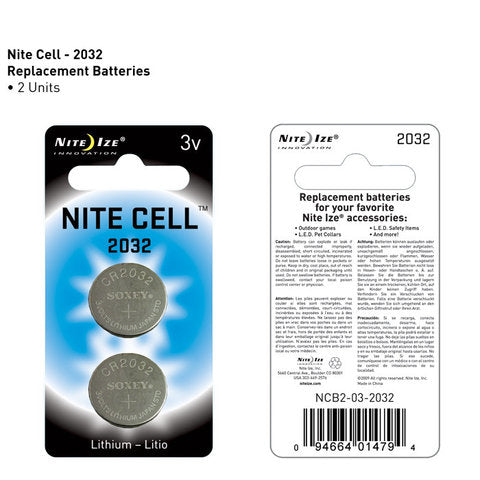 Nite Ize 2032 Lithium Batteries - 2 Pack