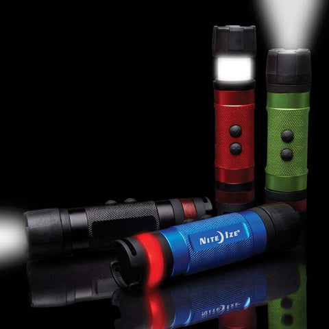 Nite Ize Radiant 3-in-1 LED Mini Flashlight - Red