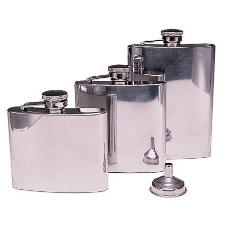Olicamp Stainless Steel Pocket Flask 5 oz.