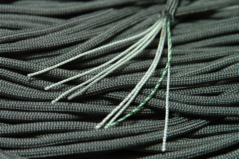 8 Strand 550 Paracord - Foliage Green/ACU Gray - 100' Hank