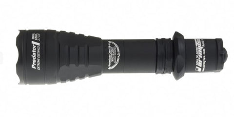 Armytek Predator v3 1x 18650 / 2x CR123A 700 Lumens CREE XB-H LED Flashlight