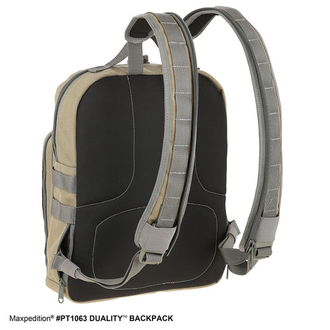 Maxpedition Duality Convertible Backpack - PT1063W Wolf Gray