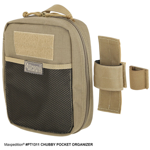 Maxpedition Chubby Pocket Organizer - PT1311K Khaki