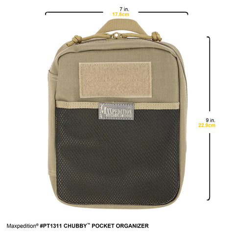 Maxpedition Chubby Pocket Organizer - PT1311B Black