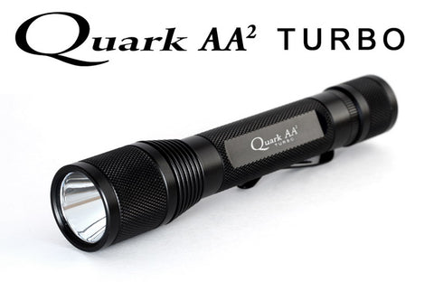 4Sevens Quark AA2 Turbo CREE XP-G R5 LED Flashlight