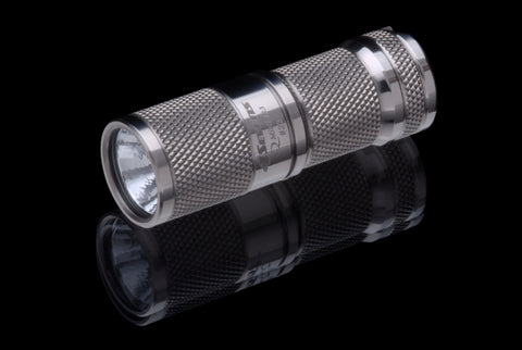 4Sevens Quark Mini 123 Titanium S3 Flashlight