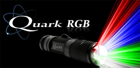4Sevens Quark RGB Cool White LED Flashlight