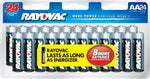 Rayovac AA Alkaline Batteries - 24 Pack