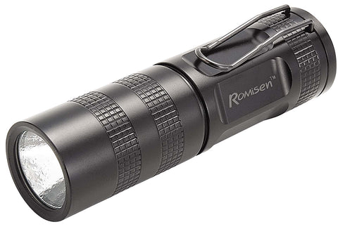 Romisen RC-C3 Q3-5A 3 Mode CR123 LED Flashlight