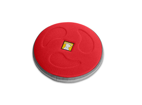 Ruffwear Hover Craft Red Currant Large Long Distance Flying Disk