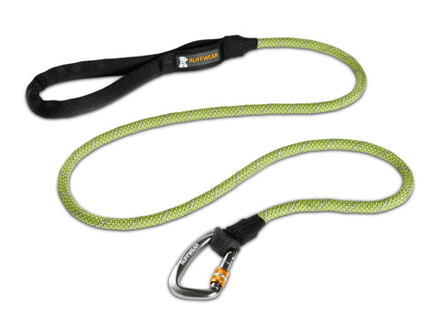 Ruffwear Knot-A-Leash - Reflective Rope Pet Leash with Locking Carabiner