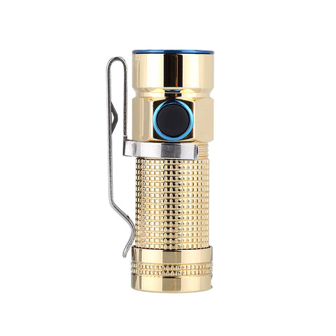 Olight S1-Br PVD Baton Brass 1 x CR123/16340 XM-L2 480 Lumen Neutral White LED Exclusive Limited Edition Flashlight