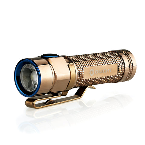 Olight S1A CU (Rose Gold) 1 x AA 600 Lumen CREE XM-L2 LED Flashlight