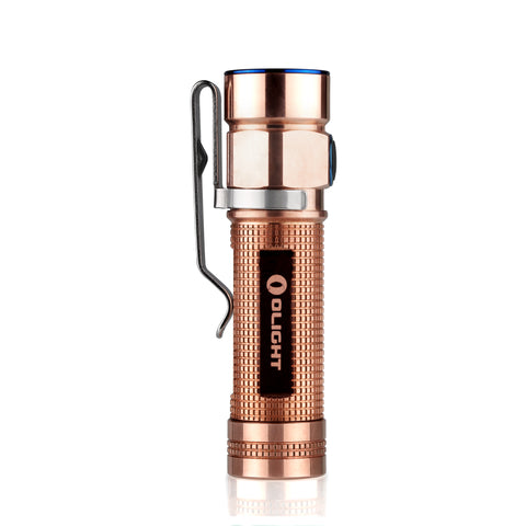 Olight S1A CU (Raw Copper) 1 x AA 600 Lumen CREE XM-L2 LED Flashlight