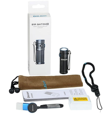 Olight S1R II Baton 1000 lumen flashlight