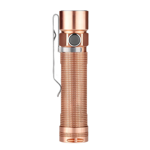 Olight S2-Cu Baton Copper 2 x CR123/ 1 x 18650 950 Lumens CREE XM-L2 CW LED Flashlight