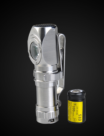 MecArmy FM11 10180 Battery 130 Lumen CREE XP-G2 LED Flashlight